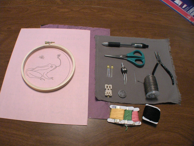Ledembroidery Tools