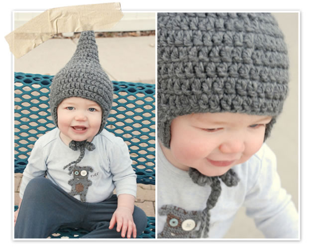 How-To: Crochet Baby Gnome Hat Make: