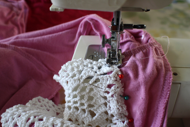 Spring Doily Top Step4