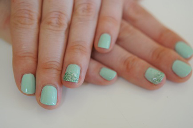 DIY mint mermaid nails.jpg