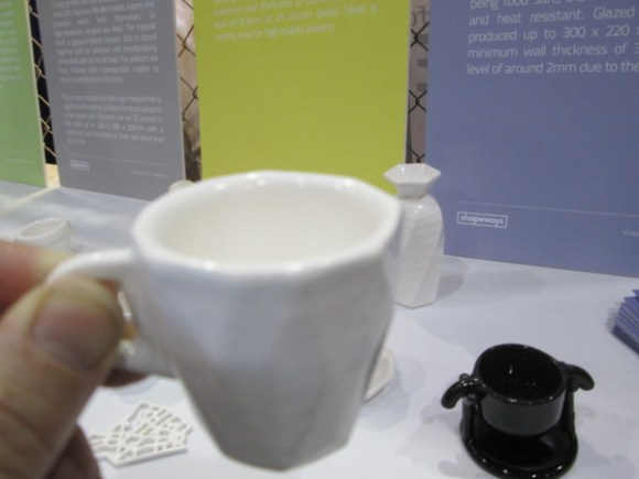 Glazed ceramic cup