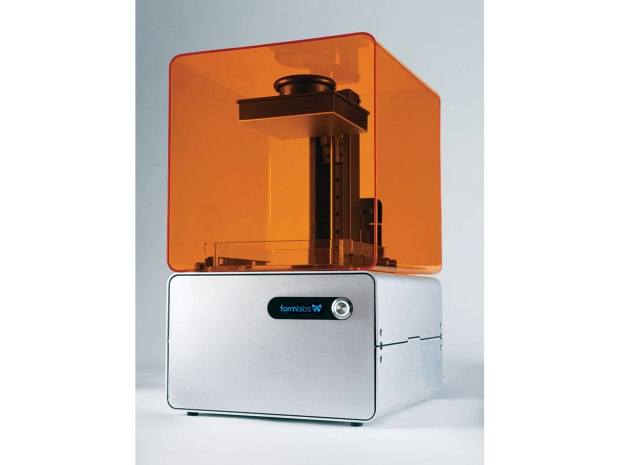 Formlabs raised more than $2 million on Kickstarter for their Form1 resin-based printer.