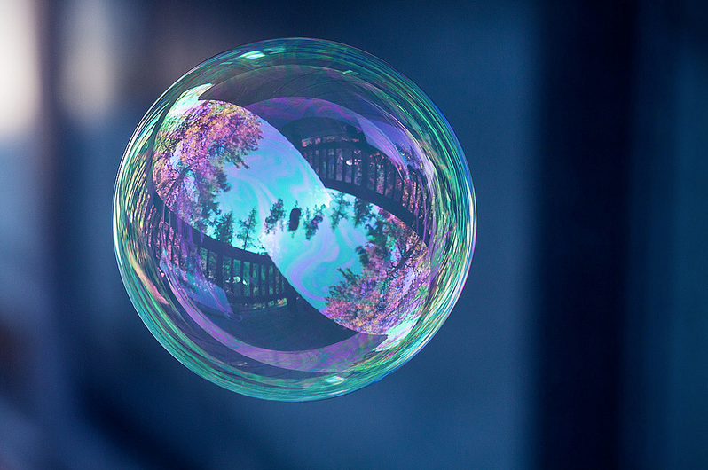 tom falconer infinity bubble