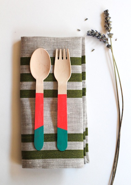 52weeksproject_colorful_wooden_cutlery