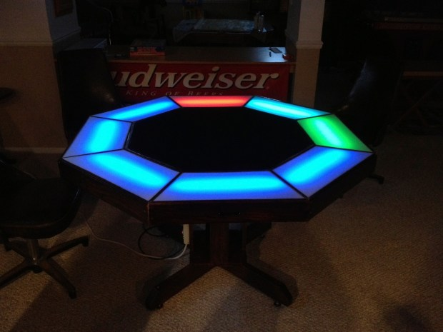 Arduino Poker Table