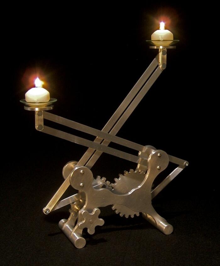 Ben Cowden Geared Candleholder