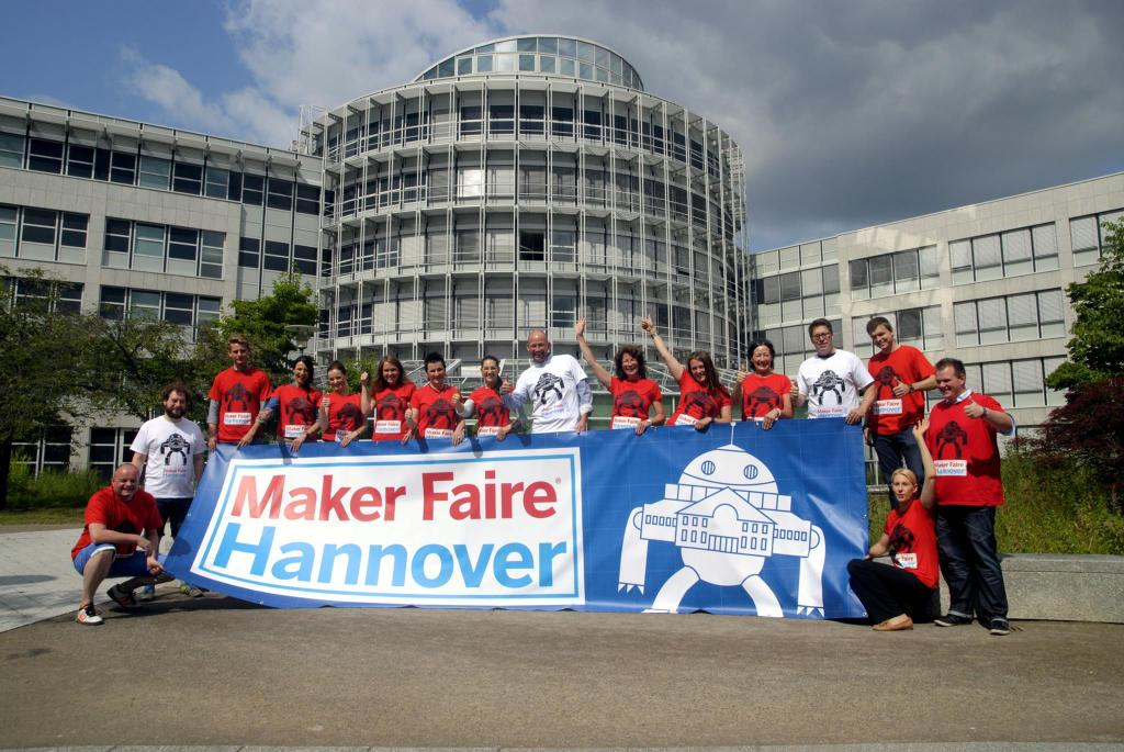 maker faire hannover crew