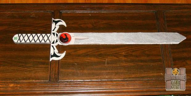 Cardboard Thundercats Sword of Omens