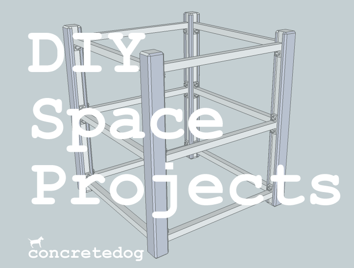 concrete dog diy space
