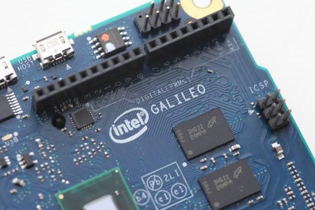 The Intel Galileo board. (Image by Matt Richardson)