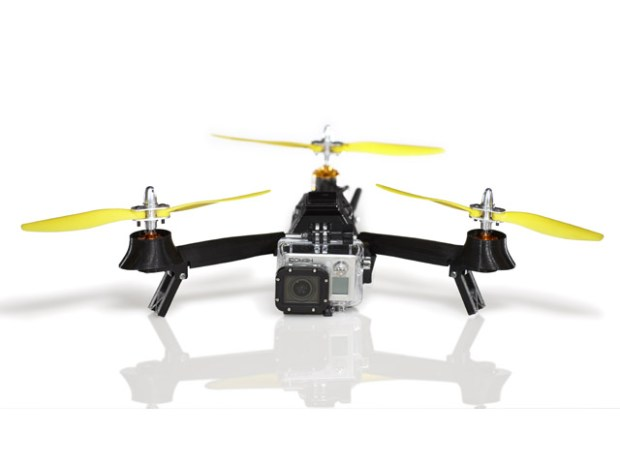 AirDroids Pocket Drone can carry an HD camera or any payload up to a 1/2 pound. Photo: AirDroids