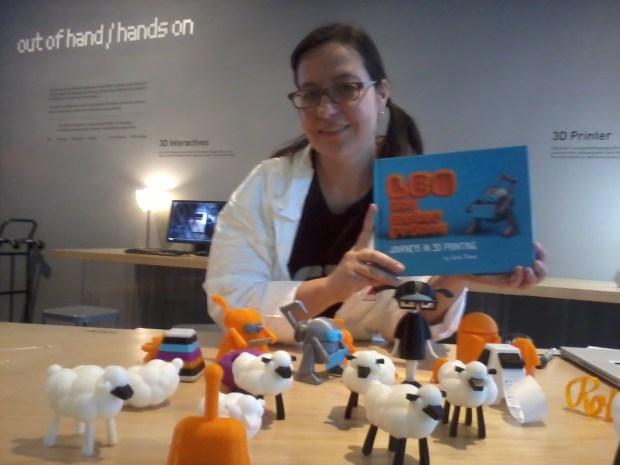 MAKE author Carla Diana and her book, Leo the Maker Prince.