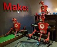 Putt-ering Robots.