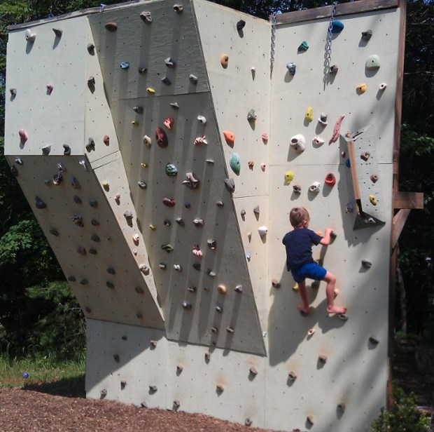 Backyard Climbing Wall Make