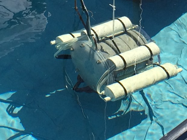 The Raspberry Pi powered ROV