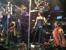 Collectibles at the Gentle Giant booth