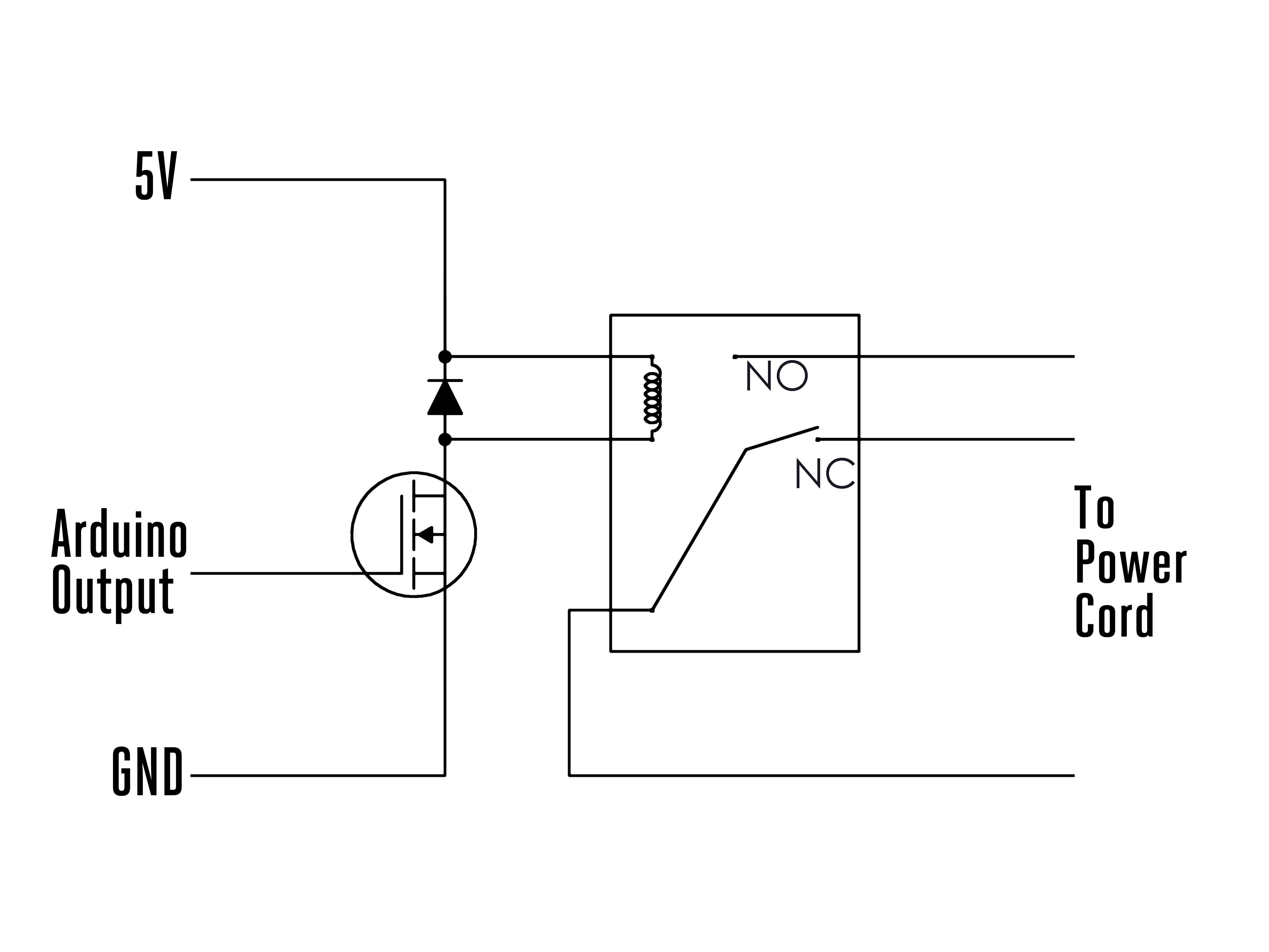 arduino to switch relay