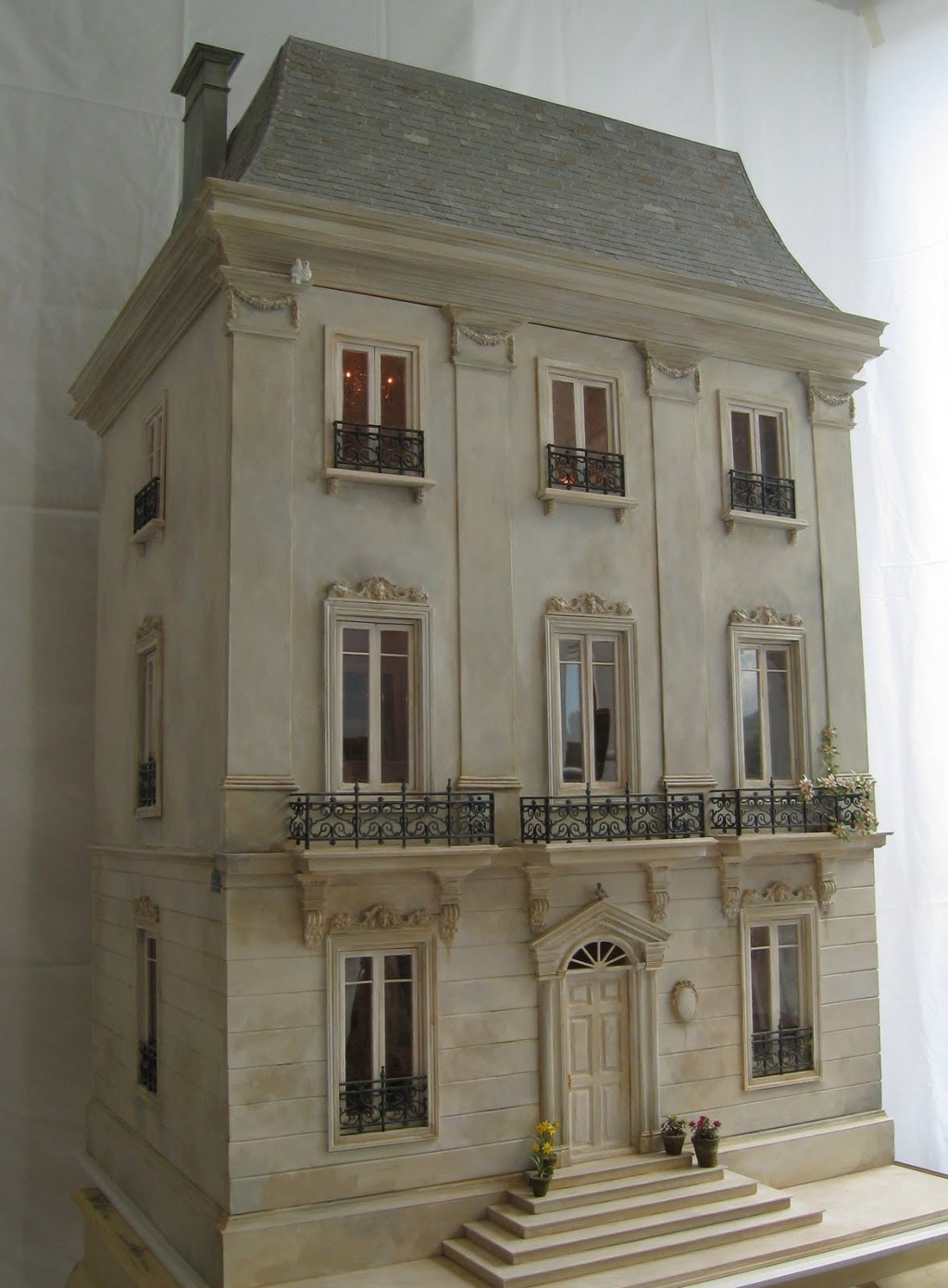 La petite maison a dollhouse five years in the making for A la maison french