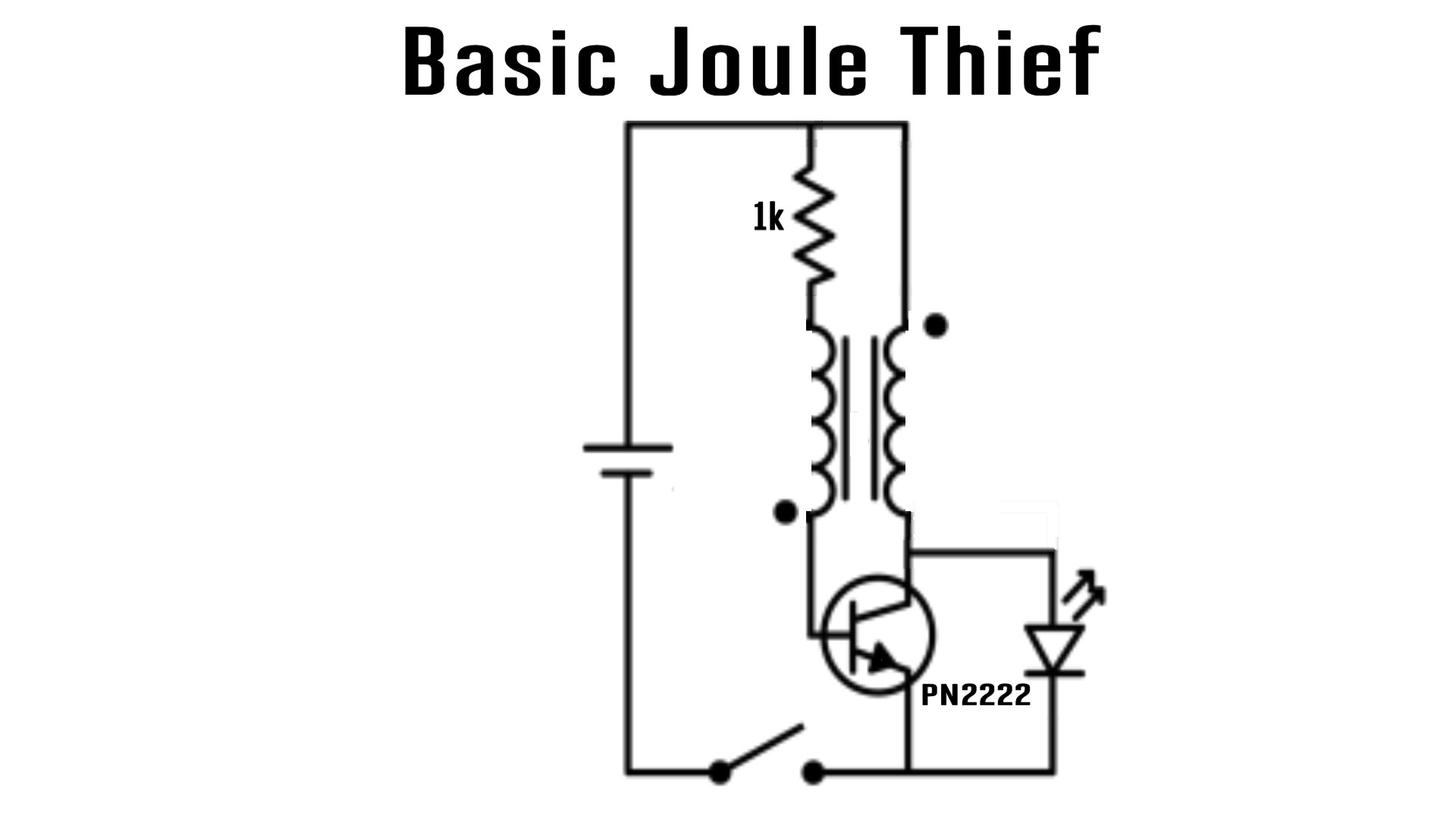 schematics for joule thief bedini youtube