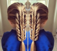 Sweetheart hair designs: One mum's incredible braid skills.