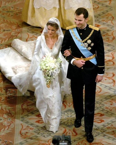 These are royal wedding dresses around the world.