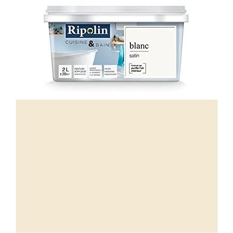 Ripolin - Peinture Esprit Déco Cuisine  Bain satin (Murs de cuisine
