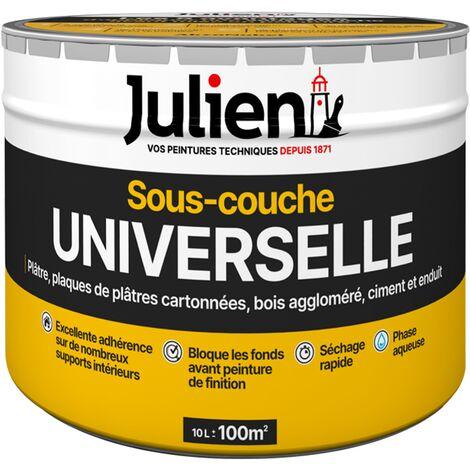 Sous-Couche Universelle avant peinture - aspect Mat Blanc 10L - Peinture Julien Sous Couche
