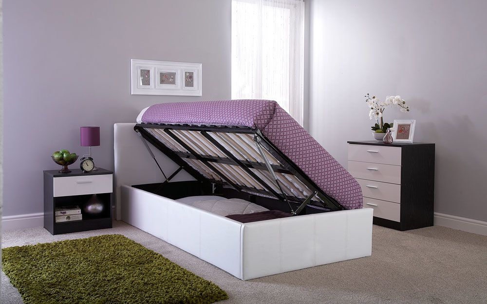 Gfw Side Lift Ottoman Bed Mattress Online