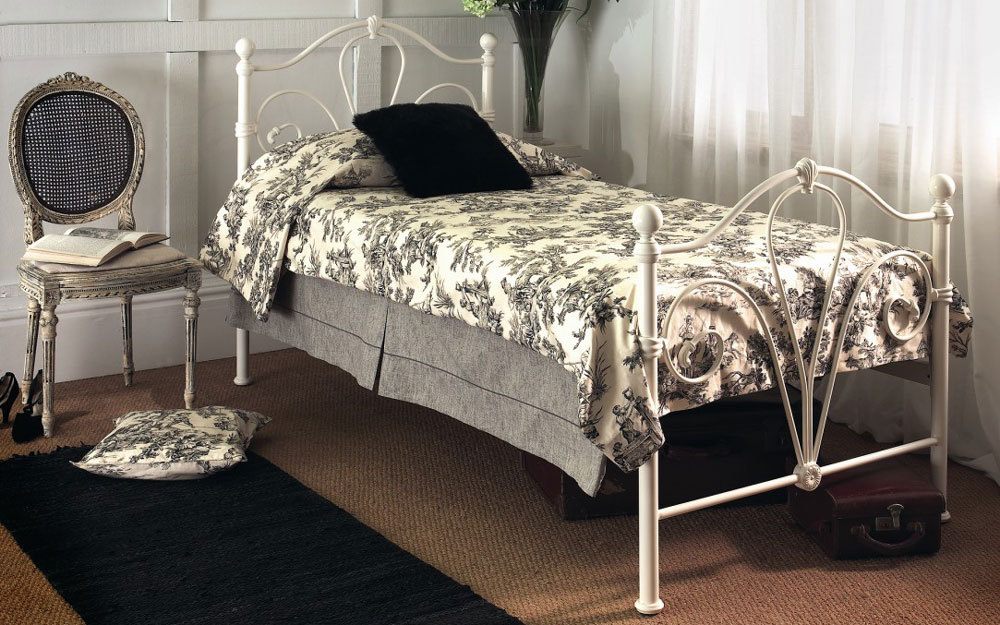 Limelight Nimbus Ivory Metal Bed Frame Mattress Online