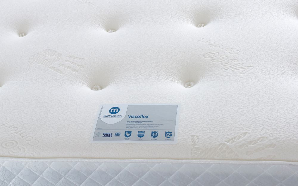 Sofa Design Zip Viscoflex Memory Mattress - Mattress Online
