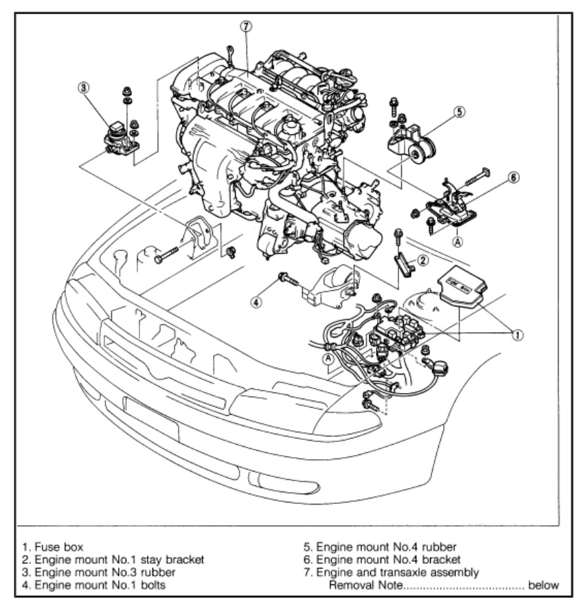 1998 Mazda Millenia Engine Diagram Wiring Diagram Library