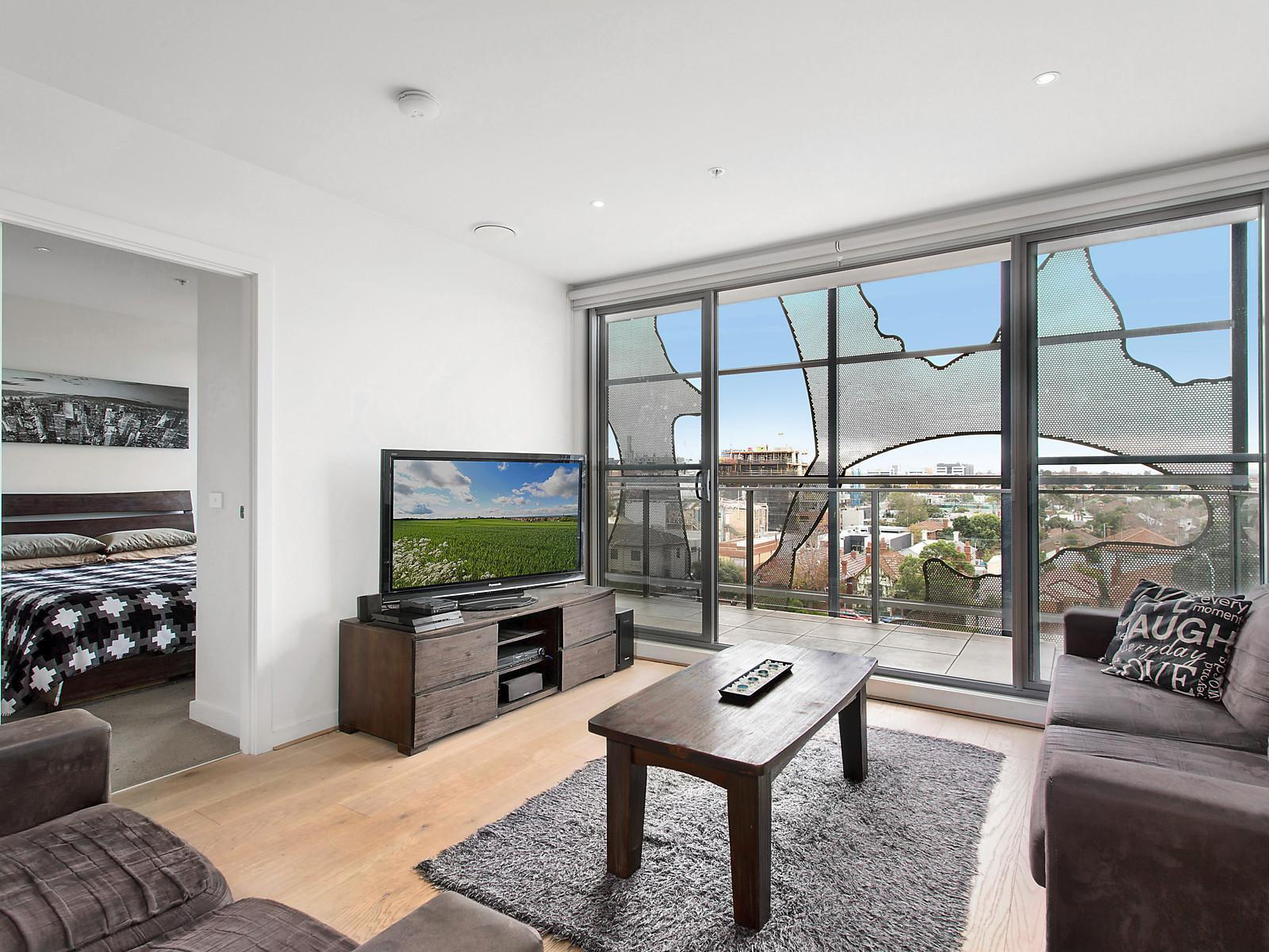 2 Bedroom Unit For Rent Melbourne 406 13 Wellington Street St Kilda Apartment Sold