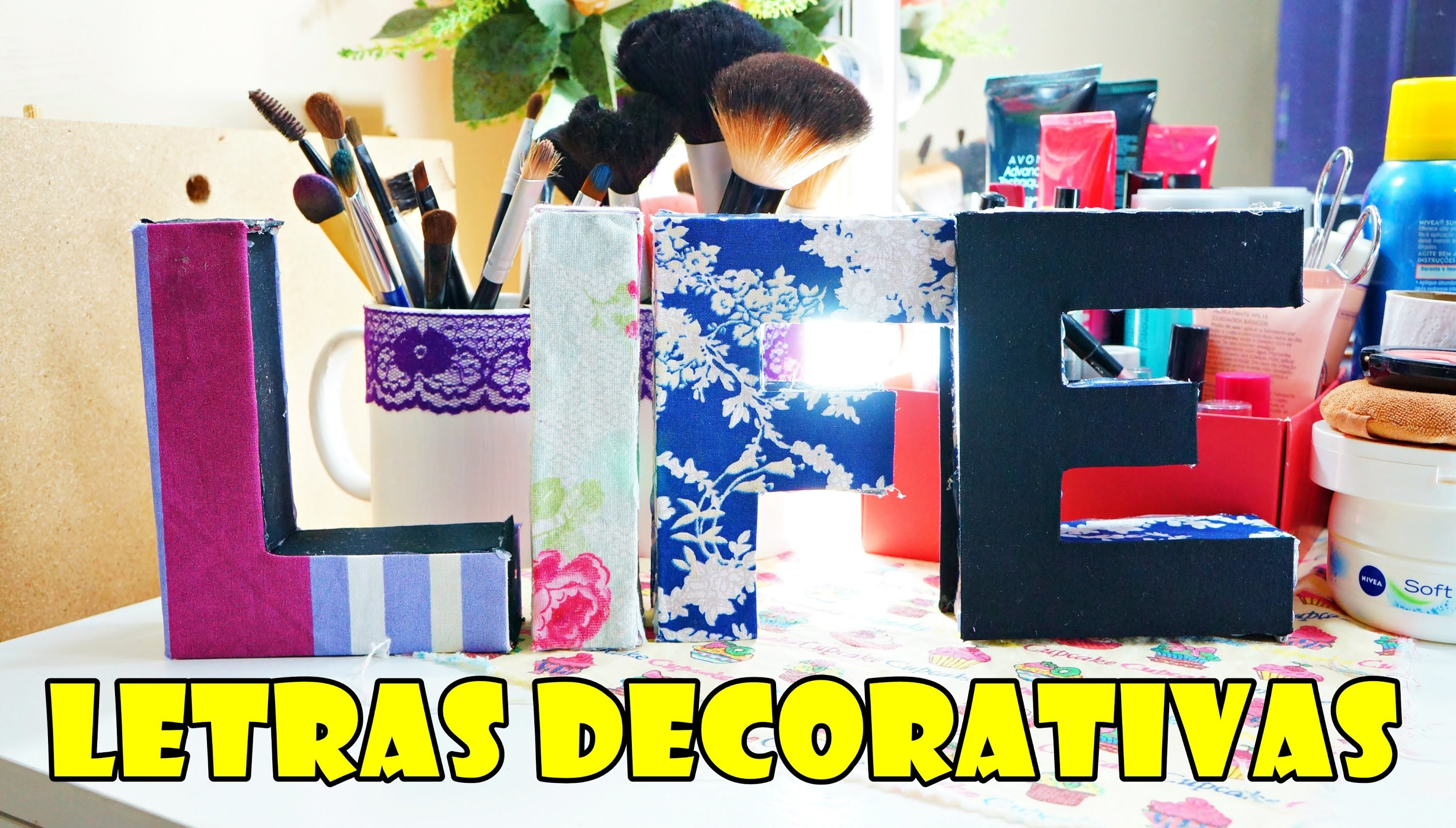 Diy Letras Decorativas Diy Letras Decorativas Super FÁcil E Barato 17