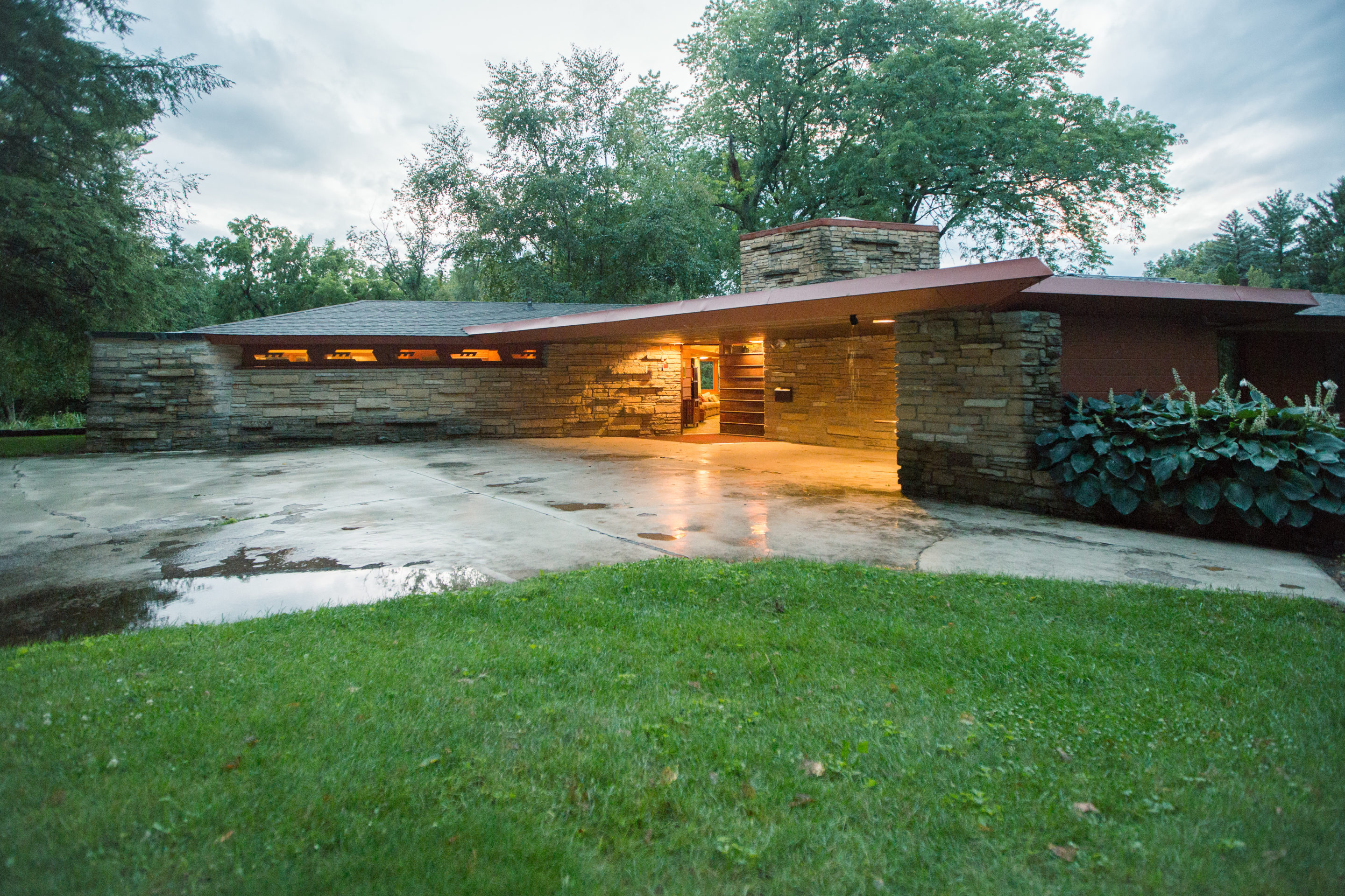 Frank Lloyd Wright Plansmatter Adds Another Frank Lloyd Wright House To Its Roster Of Architect Designed Vacation Rentals Midwest Home