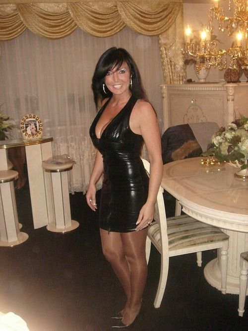 a pictures of my sexy wife in slutty dress