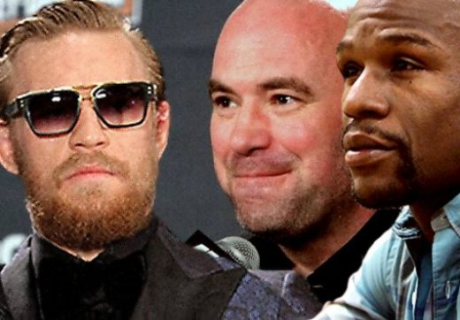 Image result for Mayweather and McGregor