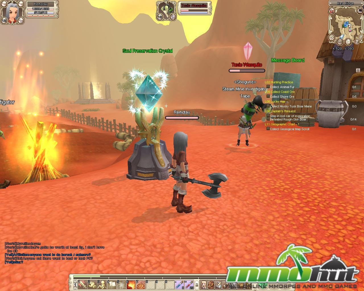 Aeria Games Grand Fantasia Mmohuts