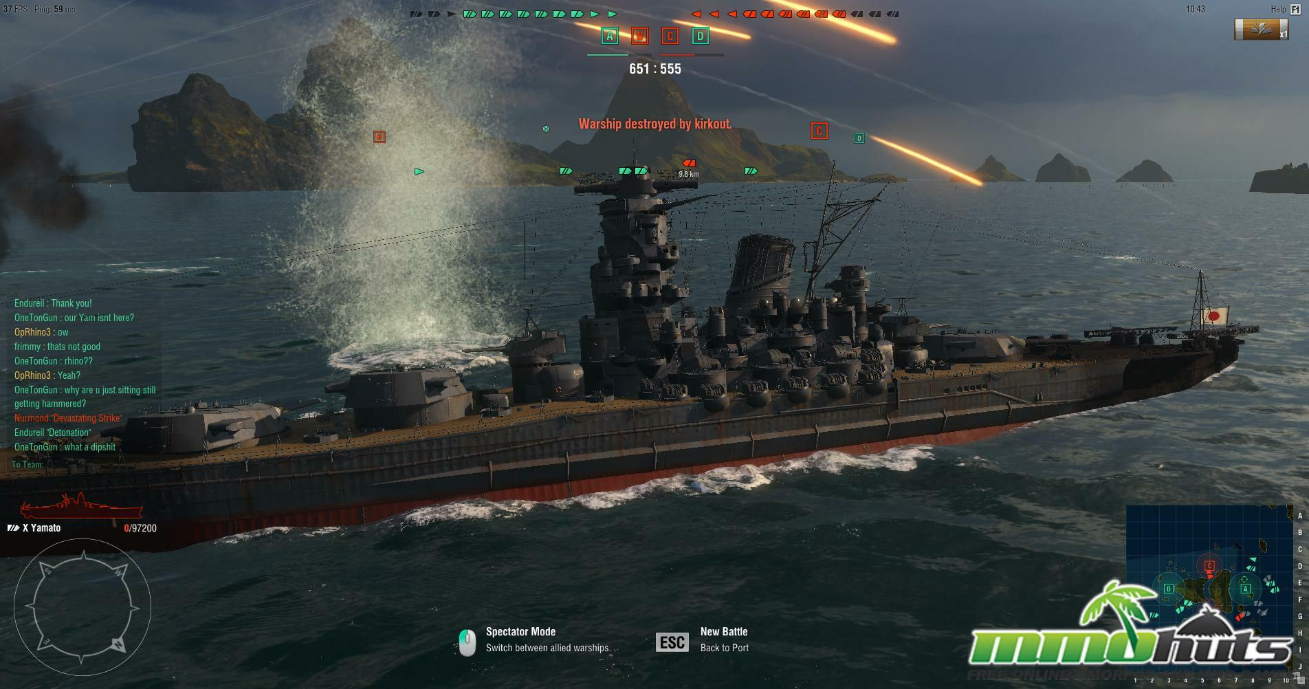 Dark Fall Wallpaper World Of Warships Launch Review Mmohuts