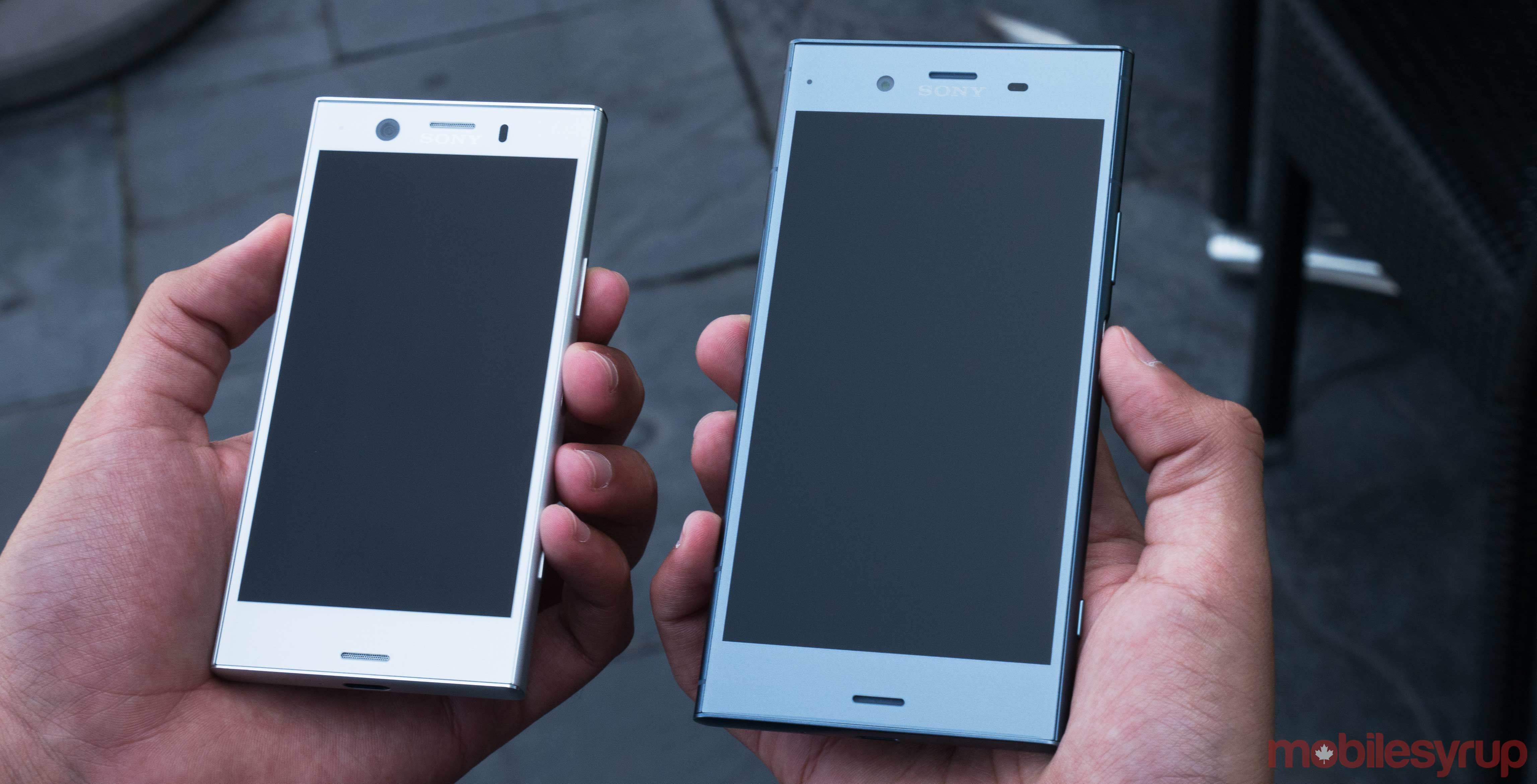 Sony Xz1 Compact System Update Sony Xperia Xz1 And Xz1 Compact Hands On That Same Sony Style
