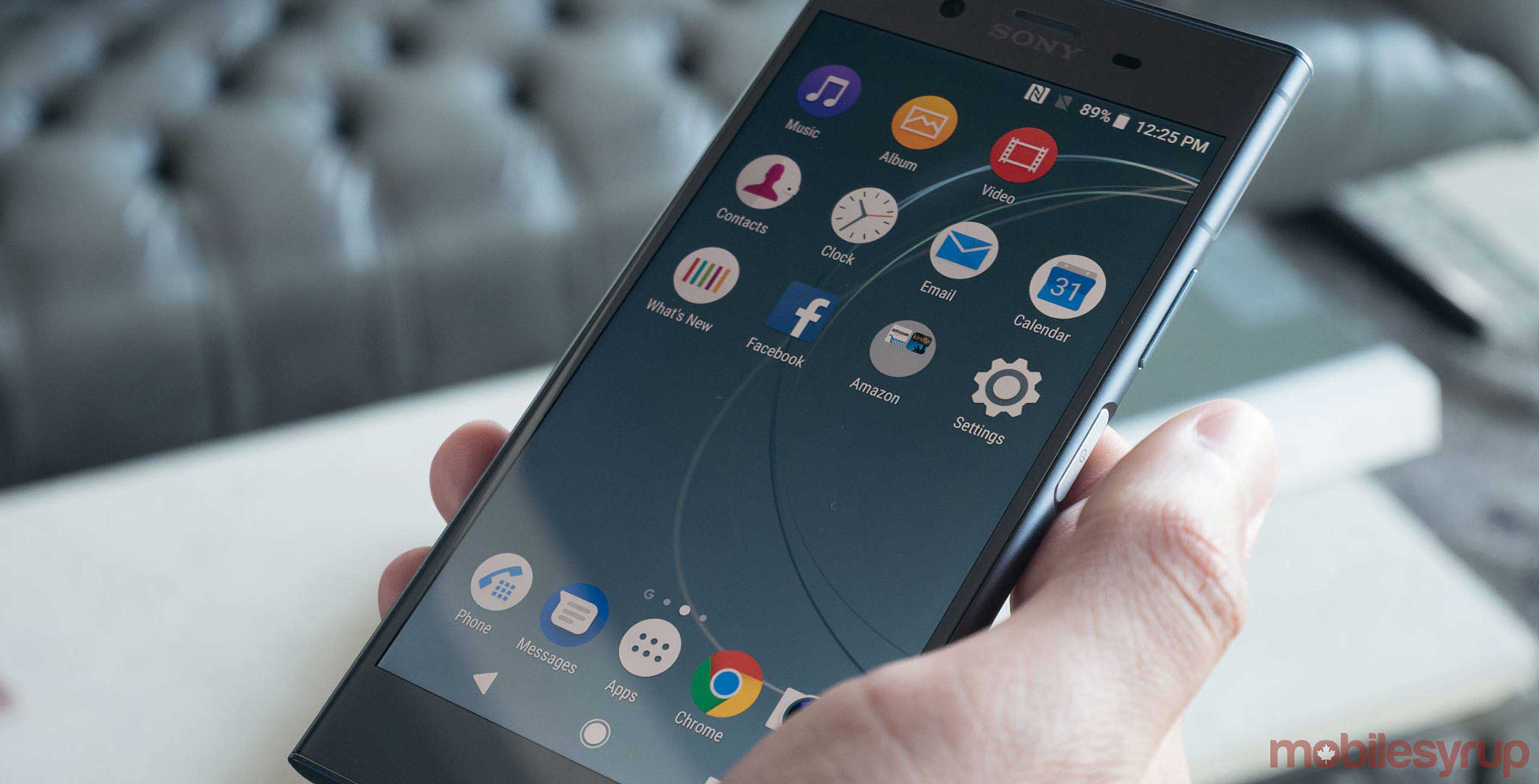 Sony Phone On Amazon Sony Xperia Xz1 Now Available For 850 Through Amazon Canada