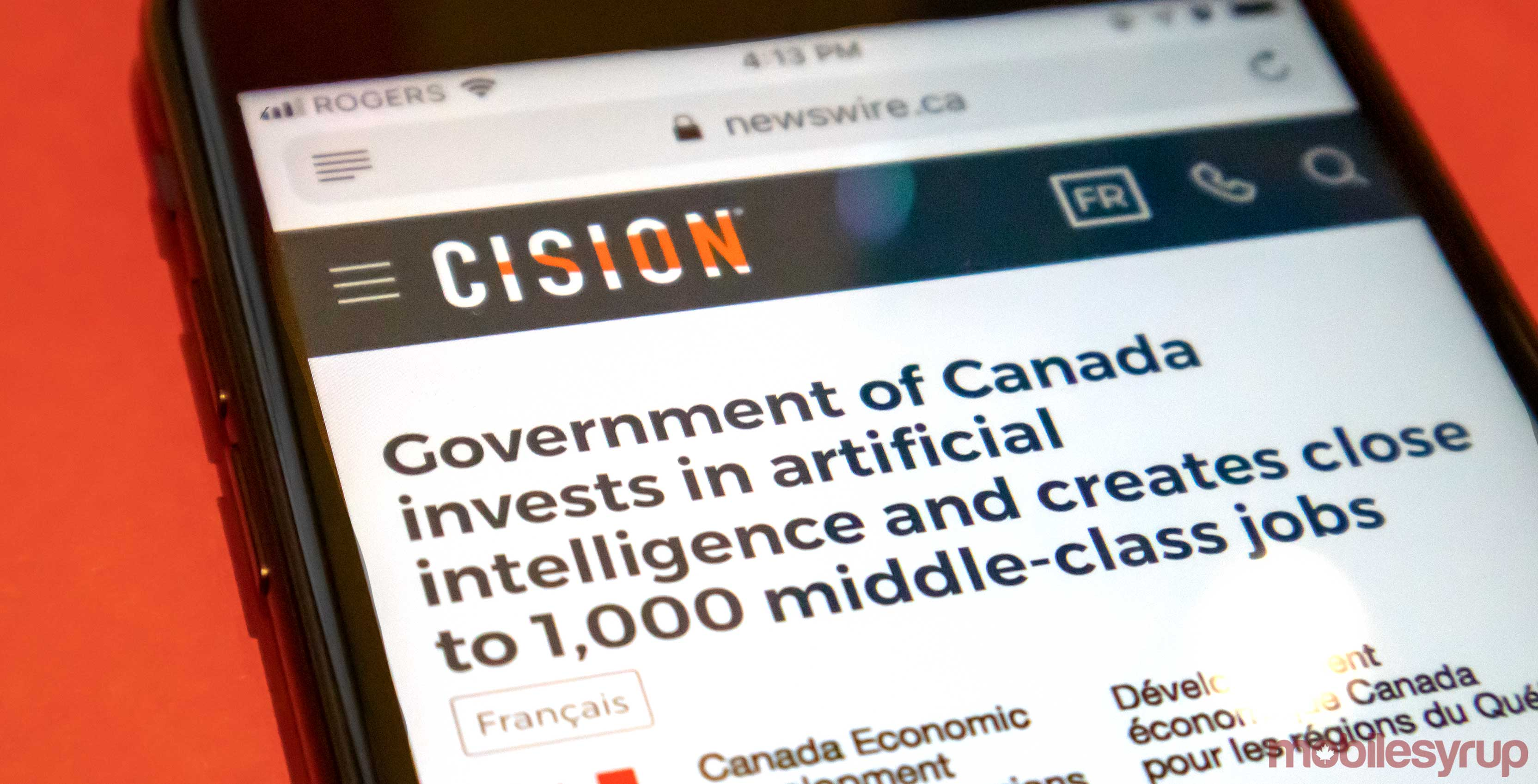 Invest Companies Canadian Government To Invest 6 3 Million In Montreal Ai Companies