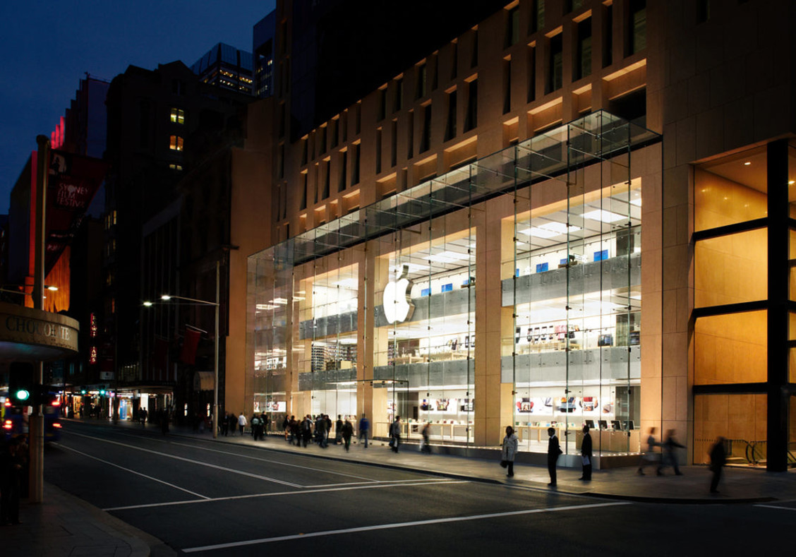 Retail Lighting Stores Sydney Apple Flagship Store Belmadar