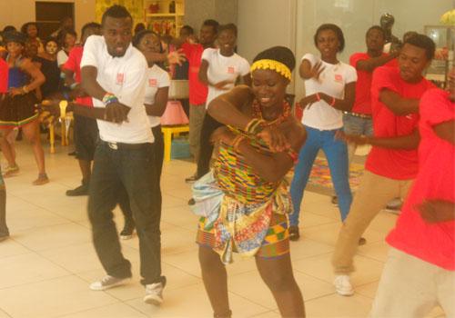 Flash Mob Ghana Thrills All At Marina Shopping Mall