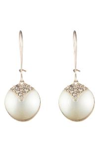 Alexis Bittar Crystal Encrusted Drop Earrings In Silver ...