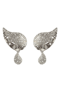 Alexis Bittar Winter Paisley Crystal Encrusted Drop ...