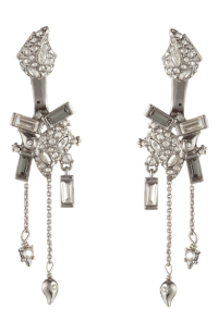 Alexis Bittar Crystal Encrusted Paisley Drop Earrings In ...