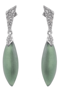 Alexis Bittar Crystal Encrusted Drop Earrings In Rosemary ...