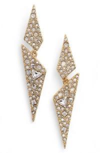 Alexis Bittar Crystal Encrusted Dangling Drop Earrings In ...