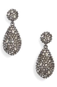 Alexis Bittar Pav Teardrop Crystal Earrings In Gold ...