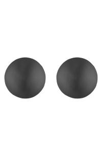 Alexis Bittar Dome Earrings In Black | ModeSens